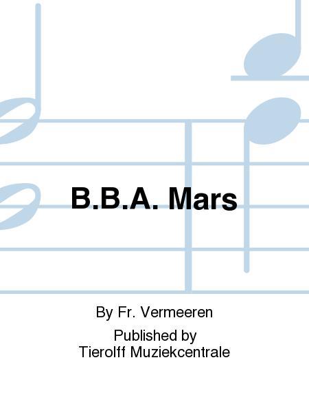 B.B.A. Mars