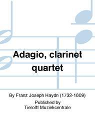 Adagio, clarinet quartet
