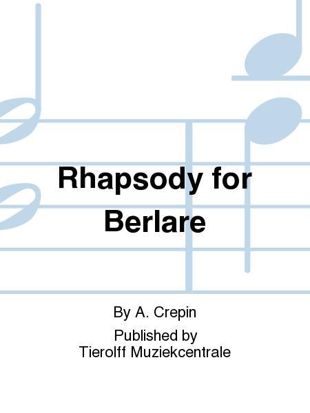 Rhapsody for Berlare