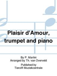 Plaisir d'Amour, trumpet and piano