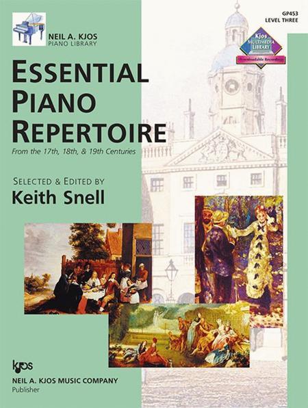 Essential Piano Repertoire - Level Three