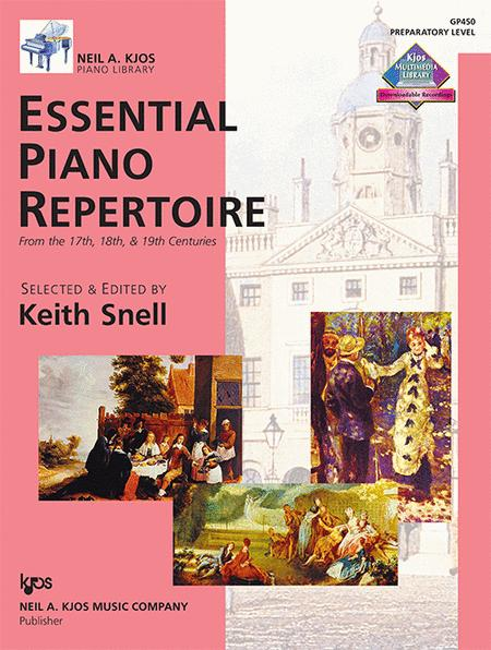 Essential Piano Repertoire - Preparatory Level