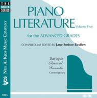 Piano Literature, Volume 5 (CD)