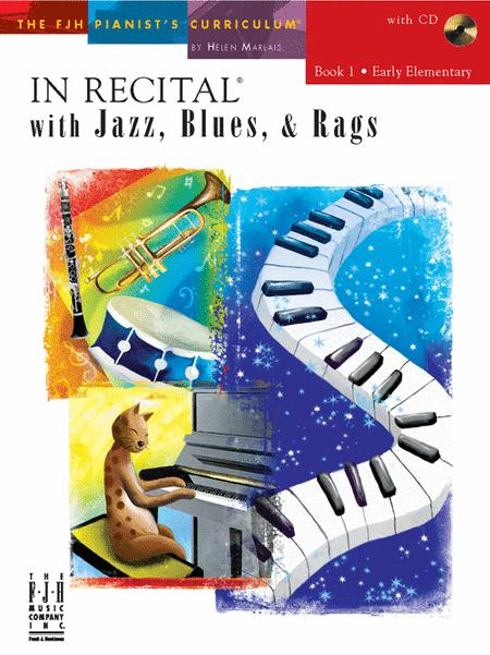 In Recital! with Jazz, Blues, & Rags, Book 1 (NFMC)