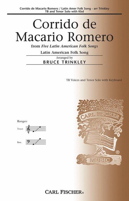 Corrido De Macario Romero