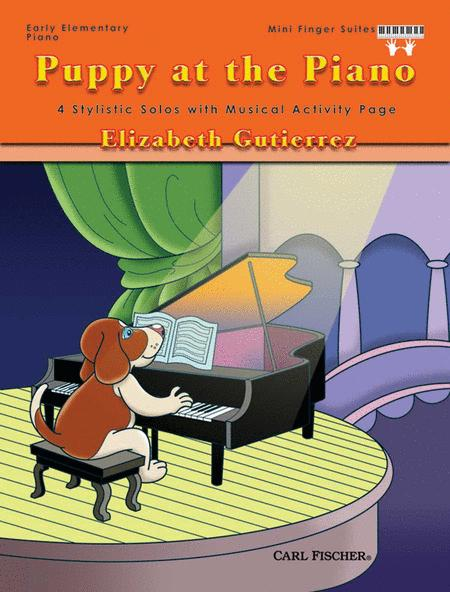 Puppy At The Piano