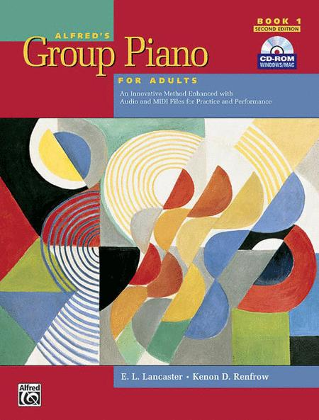 Alfred's Group Piano for Adults Student Book, Book 1