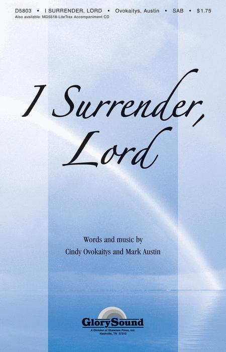 I Surrender Lord