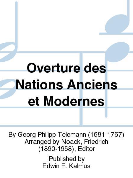 Overture des Nations Anciens et Modernes