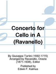 Concerto for Cello in A (Ravanello)