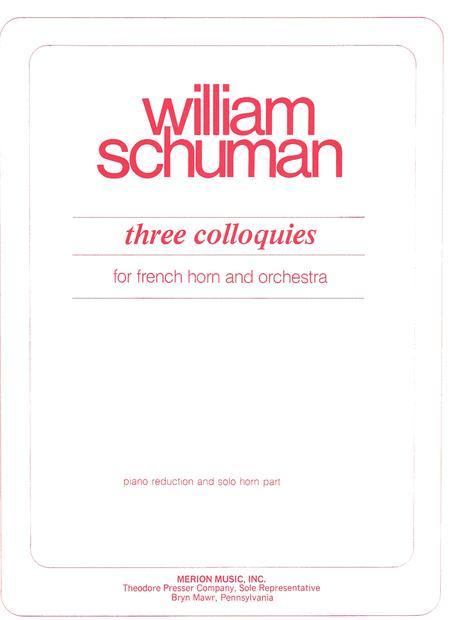 Three Colloquies