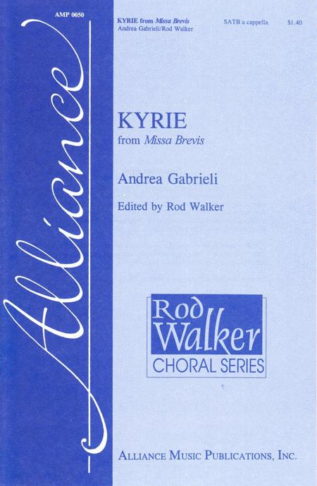 Kyrie from Missa Brevis