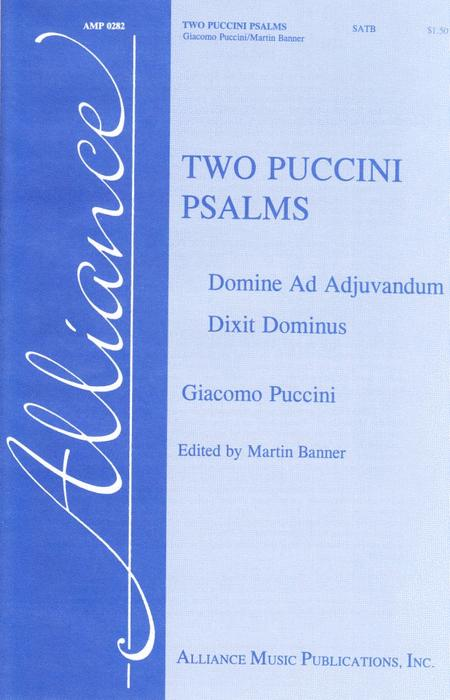 Two Puccini Psalms