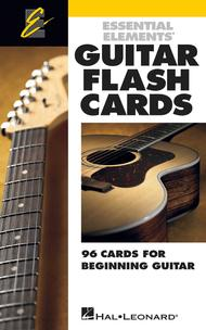 Essential Elements Guitar Flash Cards