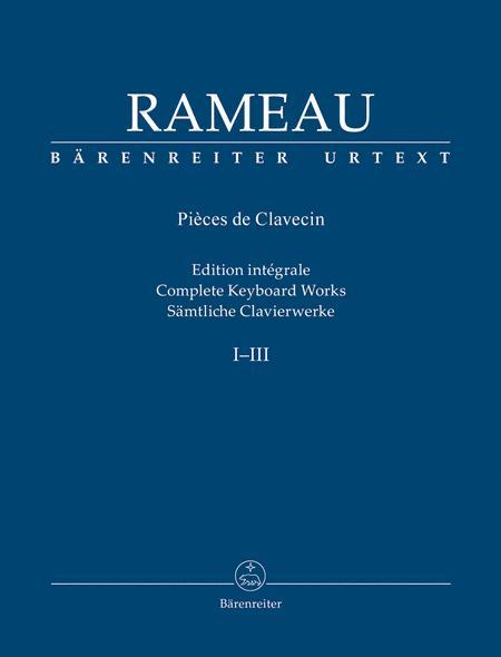 Samtliche Clavierwerke, Band I-III
