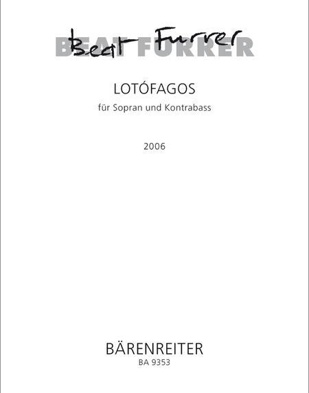 lotofagos I for Soprano and Double Bass
