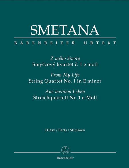 String Quartet Nr. 1 e minor 'Aus meinem Leben'