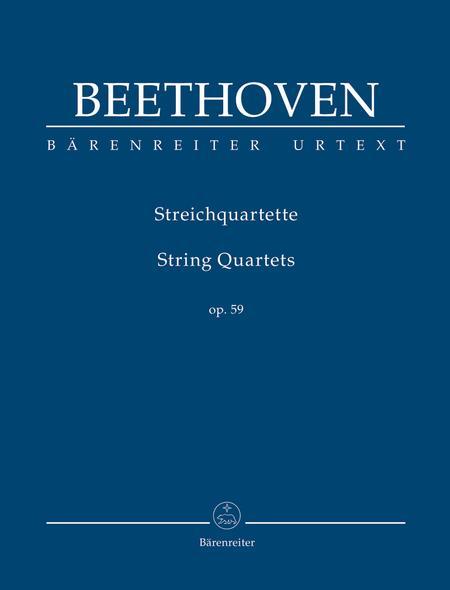 String Quartets, Op. 59