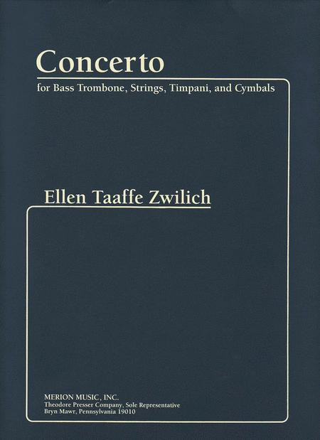 Concerto For Bass Trombone, Strings, Timpani And Cymbals