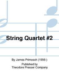 String Quartet #2