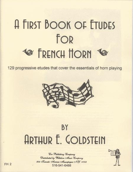 A First Book of Etudes for French Horn