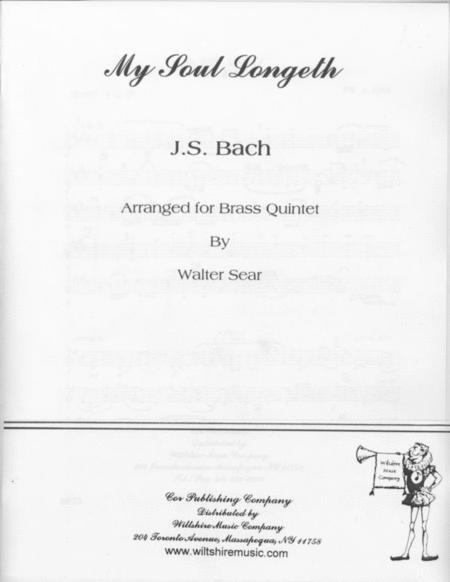 My Sould Doth Longeth & March