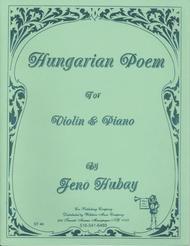 Hungarian Poem