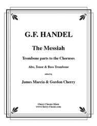 Messiah-Trombone parts choruses