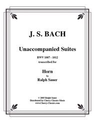 Unaccompanied Suites Horn CD-ROM