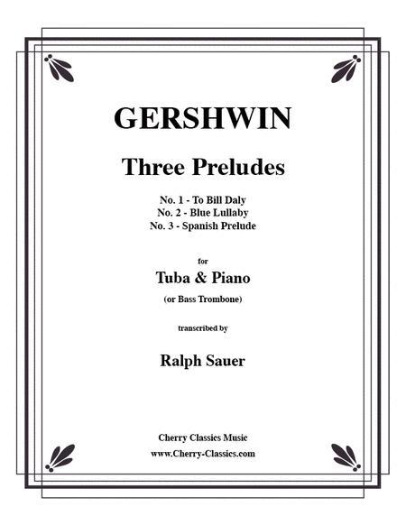 Three Preludes for Tuba or Bass Trombone & Piano