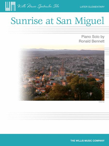 Sunrise at San Miguel