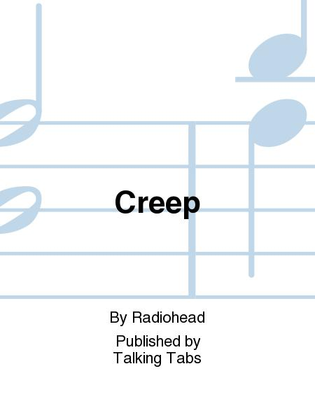 how to play creep on guitar