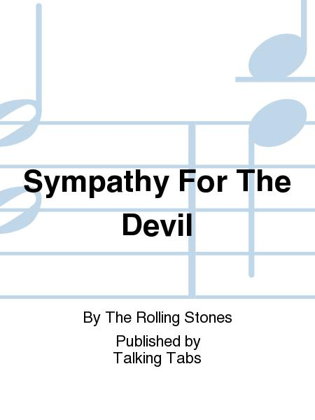 Sympathy For The Devil Sheet Music By The Rolling Stones - Sheet ...