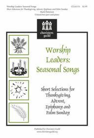 Worship Leaders: Seasonal Songs