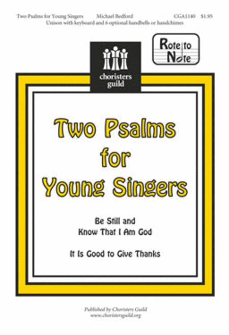 Two Psalms for Young Singers