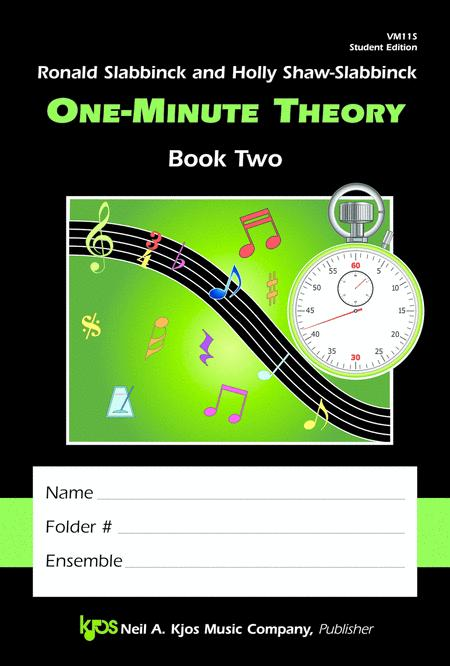 One-Minute Theory, Book 2 - Student Edition