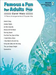 Famous & Fun for Adults: Pop - Book 2