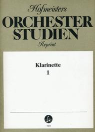 Orchesterstudien Klarinette, Heft 1: Mozart, Beethoven u.a.