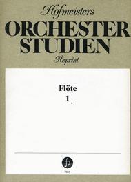 Orchesterstudien Flote, Heft 1: Bach, Haydn u.a.