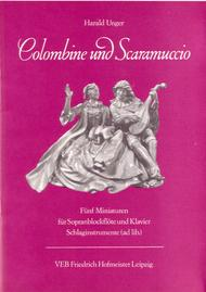 Colombine und Scaramuccio.