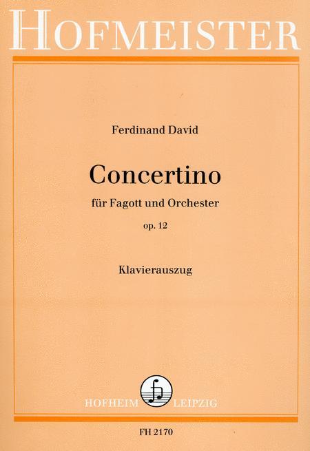 Concertino, op. 12 / KlA