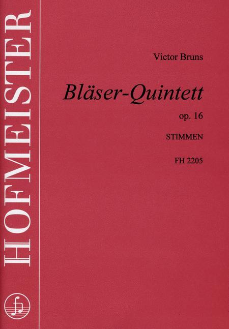 Blaserquintett, op. 16 /Sts