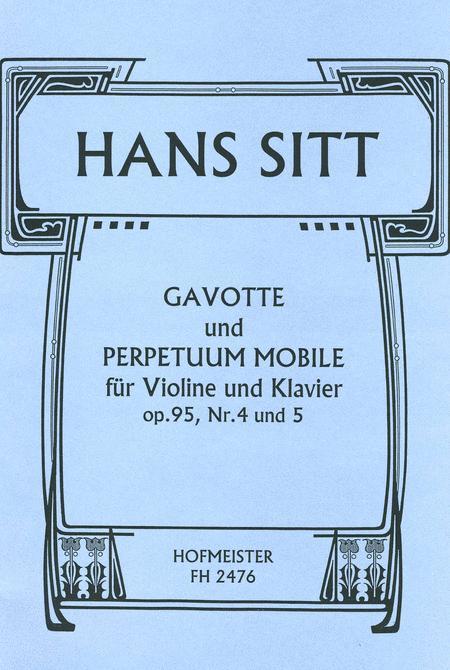 Gavotte und Perpetuum mobile, aus op. 95