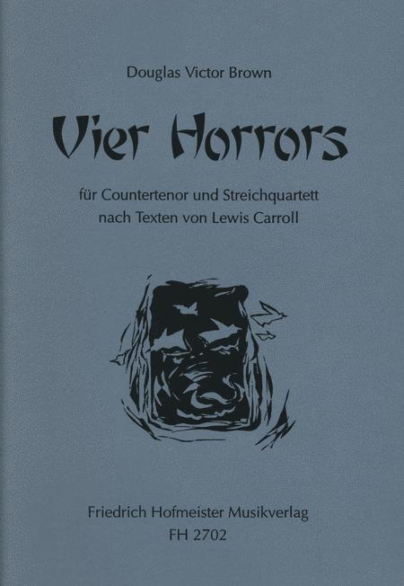 4 Horrors. Nach Texten von Lewis Caroll