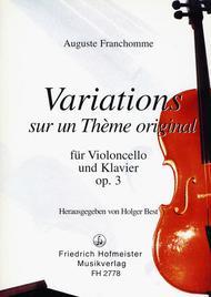 Variations (F-Dur) op. 3