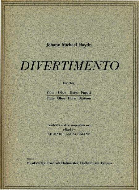 Divertimento D-Dur / Stimmen