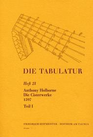 Die Tabulatur, Heft 21: Cisterwerke, 1597, Teil I