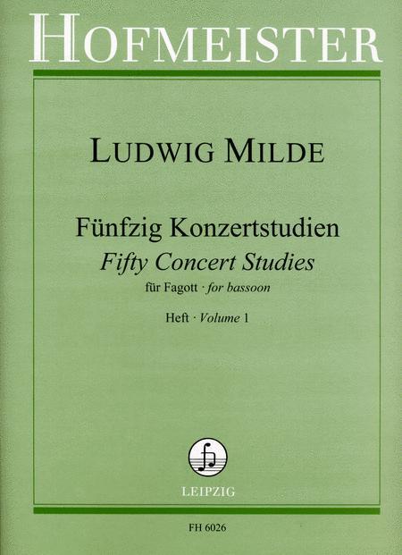50 Konzertstudien, op. 26, Heft 1