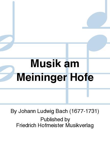 Musik am Meininger Hofe