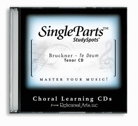 Te Deum (CD only - no sheet music)